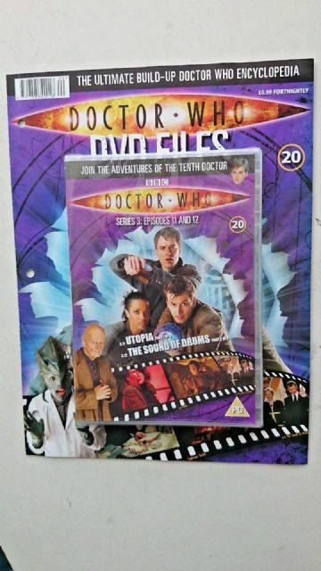 Doctor Who Series 3 Episodes 11 and 12  SEALED With Magazine